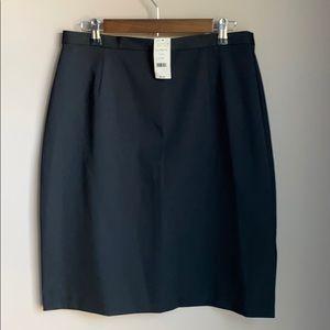NWT NY&CO Pencil Skirt Black SZ 14